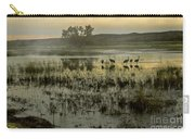 Sandhill Serenity Carry-all Pouch by Susan Warren