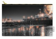 Santa Monica Glow By Mike-hope Carry-all Pouch by Michael Hope
