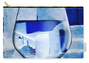 Santorini Greece Evening  Carry-all Pouch by Colette V Hera Guggenheim