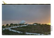 Santuario De Nossa Senhora Da Piedade Welcoming Twilight In Loule Carry-all Pouch