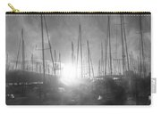 Sausalito California Mystical Magical Harbor Sunrise Carry-all Pouch