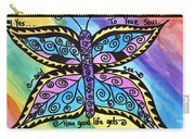 Say Yes To Your Soul Carry-all Pouch