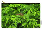 Scarlet Darter Male Dragonfly Carry-all Pouch