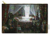 Scary Bedroom Surreal Google Deep Dream Carry-all Pouch