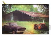 Scenes From The Past - Trucks And Tractors Carry-all Pouch