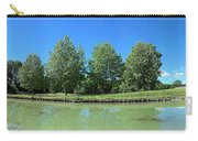 Scenic View Of Burgundy Canal Carry-all Pouch