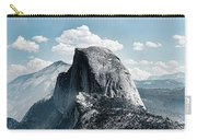 Scenic View Of Rock Formations, Half Carry-all Pouch