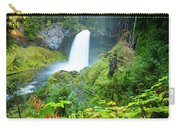 Scenic View Of Waterfall, Portland Carry-all Pouch