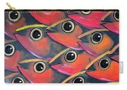 School Of Eyes Carry-all Pouch
