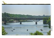 Schuylkill River View - Strawberry Mansion Bridge Carry-all Pouch