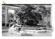 Sculpture Getty Villa Black White  Carry-all Pouch