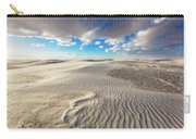 Sea Of Sand - Endless Dunes At White Sands New Mexico Carry-all Pouch