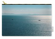 Sea With Two Boats Carry-all Pouch