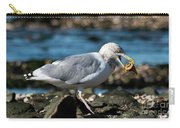 Seagull Carrying Snail Carry-all Pouch