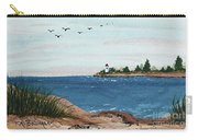 Seagulls Over Lighthouse Cove Carry-all Pouch