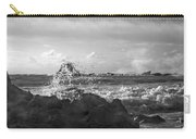 Seascape In Black And White Carry-all Pouch