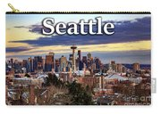 Seattle From Kerry Park Carry-all Pouch
