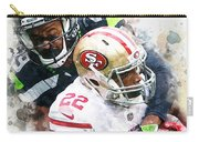 Seattle Seahawks Against San Francisco 49ers Carry-all Pouch