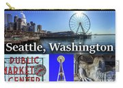 Seattle Washington Waterfront 02 Carry-all Pouch