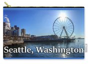 Seattle Washington Waterfront  Carry-all Pouch