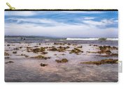 Seaweed At Low Tide Carry-all Pouch by Alison Frank