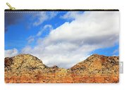 Sedona Jack's Trail Blue Sky, Clouds Red Rock Hills 5032 3 Carry-all Pouch