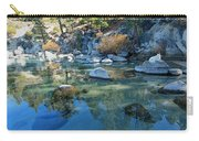 Sekani Autumn Portrait Carry-all Pouch by Sean Sarsfield