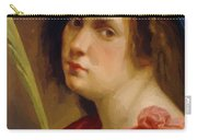 Self Portrait As A Female Martyr 1615 Carry-all Pouch
