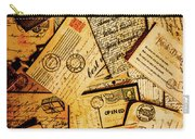 Sentimental Writings Carry-all Pouch