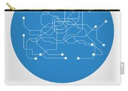 Seoul Blue Subway Map Carry-all Pouch