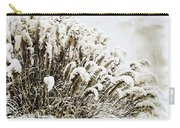 Sepia Snow Carry-all Pouch
