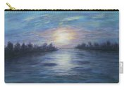 Serene River Sunset Carry-all Pouch