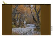 Serene Stream In Autumn Carry-all Pouch