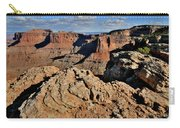 Shafer Canyon In Canyonlands Np Carry-all Pouch