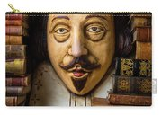 Shakespeare With Old Books Carry-all Pouch