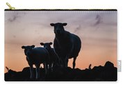 Sheep Family Carry-all Pouch