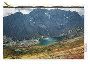 Ship Lake In Autumn Carry-all Pouch by Tim Newton