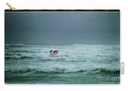 Shooting The Surf Carry-all Pouch by Judy Hall-Folde
