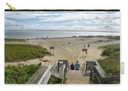 Shoreline Staircase By Uscg Station Chatham Cape Cod Massachusetts Carry-all Pouch