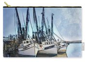 Shrimp Boats At Darien Carry-all Pouch