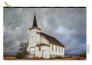 Shuttered Church In Cartwright North Dakota Carry-all Pouch