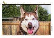 Siberian Husky Digital Art A030819 Carry-all Pouch