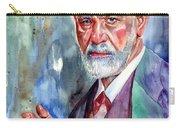 Sigmund Freud Portrait II Carry-all Pouch