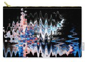 Signing Odd Blue Carry-all Pouch by Don Northup