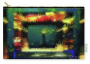 Silk-featherbrush Number 4 - All-night Vigil At The Lighthouse Blues Club Carry-all Pouch