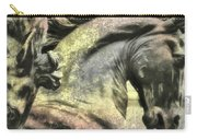 Silver And Gold  Art Carry-all Pouch