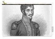 Simon Bolivar Venezuelan Statesman, Soldier, And Revolutionary Leader Carry-all Pouch