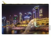 Singapure At Night Carry-all Pouch