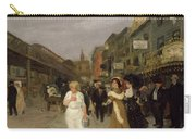 Sixth Avenue And Thirtieth Street, New York City, 1907 Carry-all Pouch