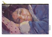 Sleeping Lady Carry-all Pouch